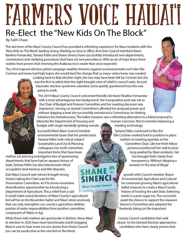 Re-Elect 'New Kids On The Block'